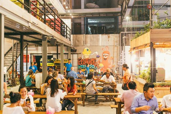 3 chợ đêm ẩm thực mới toanh ở Sài Gòn khiến bạn phải đi ngay kẻo lỡ - Ảnh 7.