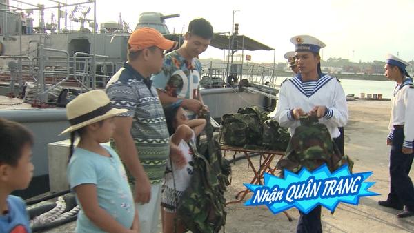 Bố ơi: Các nhóc tì bỡ ngỡ khi chiến đấu cùng các chiến sĩ hải quân - Ảnh 5.