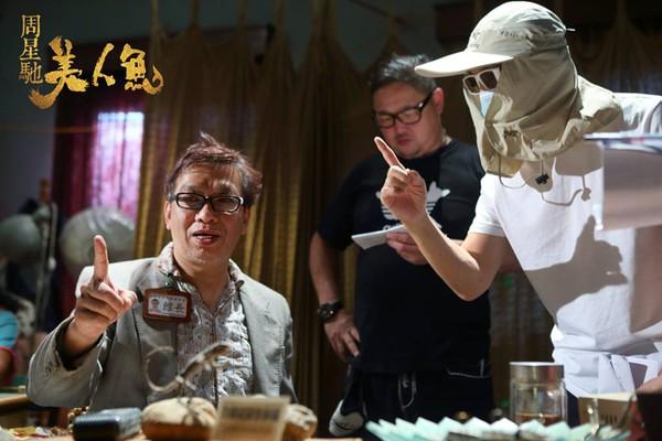 Hé lộ hình ảnh hậu trường Mỹ Nhân Ngư của vua hài Châu Tinh Trì - Ảnh 2.