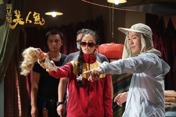Hé lộ hình ảnh hậu trường Mỹ Nhân Ngư của vua hài Châu Tinh Trì - Ảnh 3.