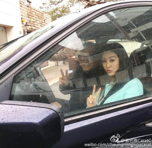 Âu Dương Chấn Hoa và Hoa hậu Hồng Kông may mắn thoát chết khỏi tai nạn rơi búa - Ảnh 5.