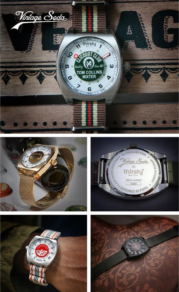 Bộ sưu tập đồng hồ lạ mắt lấy cảm hứng từ vỏ chai sô đa - Ảnh 3.