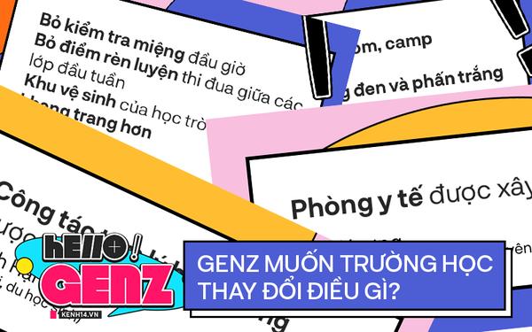 Ngày 20⁄11, GenZ hội ý: Tôi muốn trường học thay đổi điều gì?