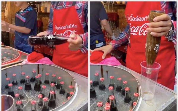 Một món uống đường phố Thái Lan khiến dân mạng Việt tranh cãi vì cách làm siêu lạ, biết được mánh khoé đằng sau mới bất ngờ