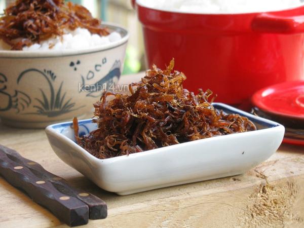 Ruốc nấm mặn mà ngon ngon dễ ghiền 10