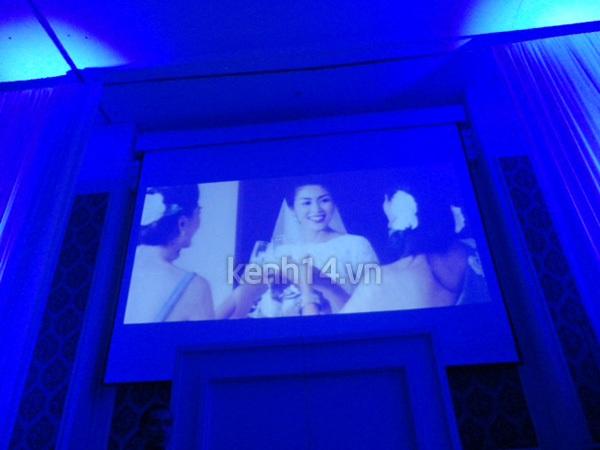 Những hình ảnh hiếm hoi trong tiệc cưới Hà Tăng 4