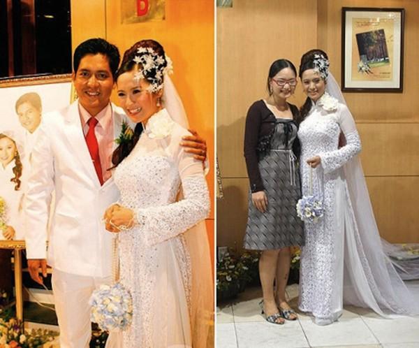 Những cô dâu của showbiz Việt diện áo dài trong ngày cưới hỏi 26