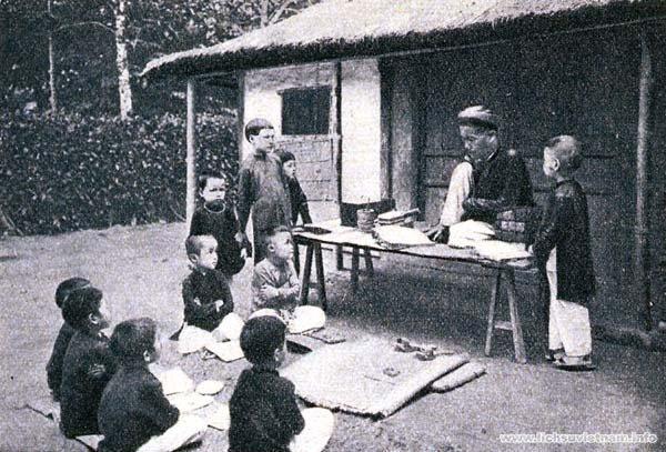 Đóng vai người Việt cổ đi học thời xưa 1