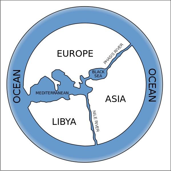 Xem bản đồ thế giới từ cổ đại đến hiện đại 2