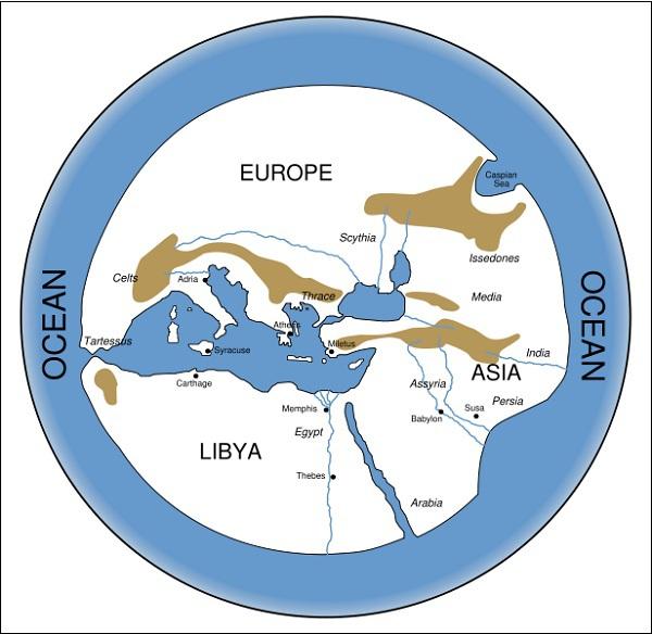 Xem bản đồ thế giới từ cổ đại đến hiện đại 3