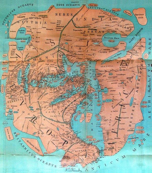 Xem bản đồ thế giới từ cổ đại đến hiện đại 6