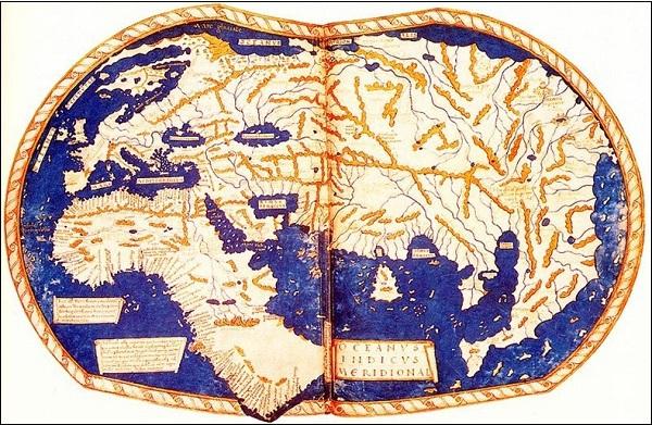 Xem bản đồ thế giới từ cổ đại đến hiện đại 10