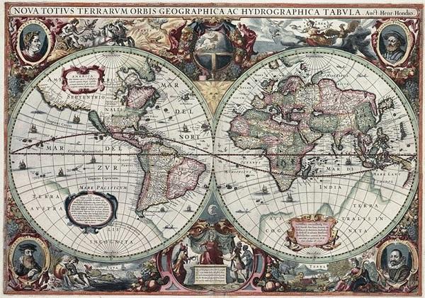 Xem bản đồ thế giới từ cổ đại đến hiện đại 15