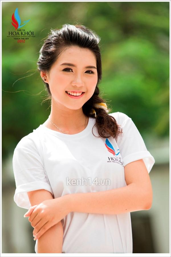 13 nữ sinh xinh xắn của HV Hàng không tranh tài Miss VAA 4