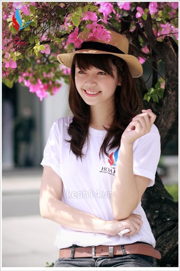 13 nữ sinh xinh xắn của HV Hàng không tranh tài Miss VAA 9