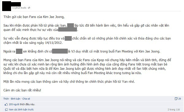 Fan tẩy chay VJ Việt có hành động thiếu tế nhị với JaeJoong 8
