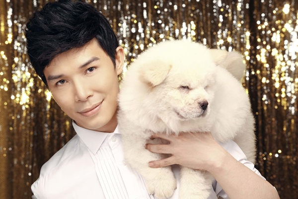 Nathan Lee chụp bìa single với cún cưng 4