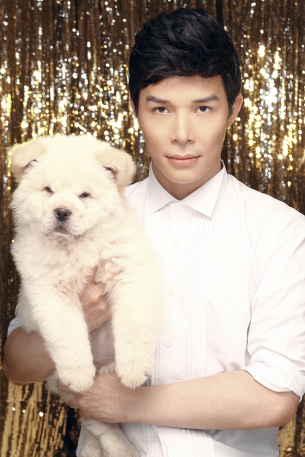 Nathan Lee chụp bìa single với cún cưng 5
