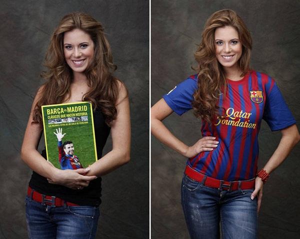 Hoa hậu Tây Ban Nha khỏa thân bên cờ Barcelona 5