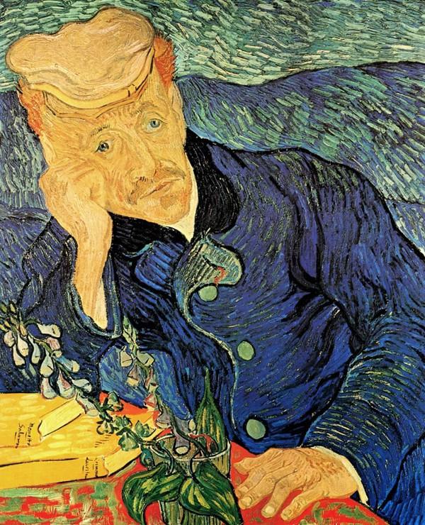 Van Gogh đã vẽ lại chân dung của bác sĩ Gachet, người đã chăm sóc ông trong  những năm tháng cuối đời mình. Ryoei Saito đã mua lại bức tranh này vào ...