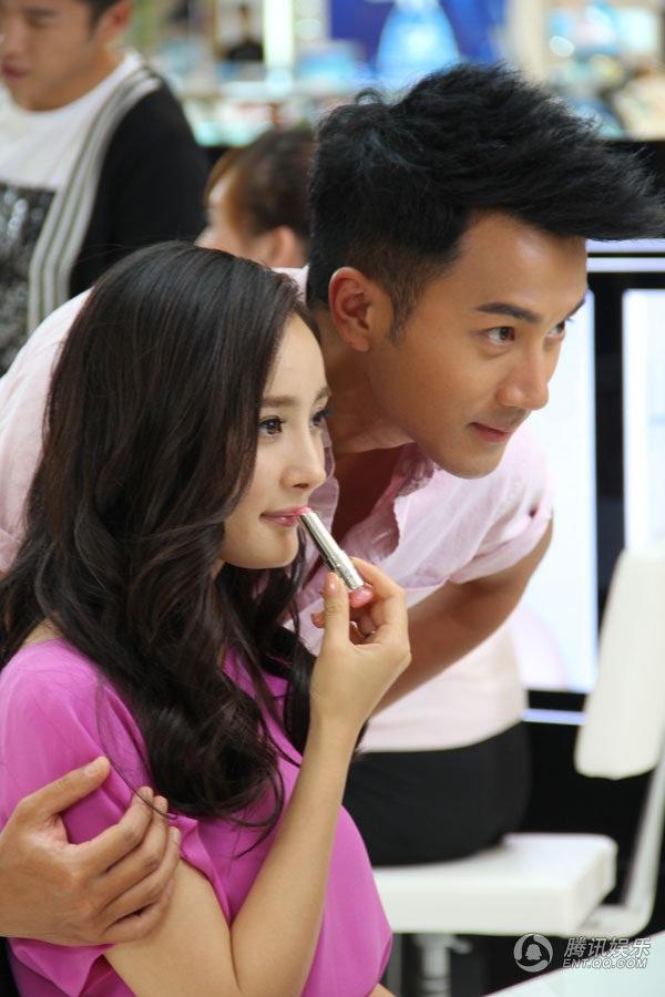 """Dương Mịch thành """"vợ"""" Lưu Khải Uy vì tiền 2"""