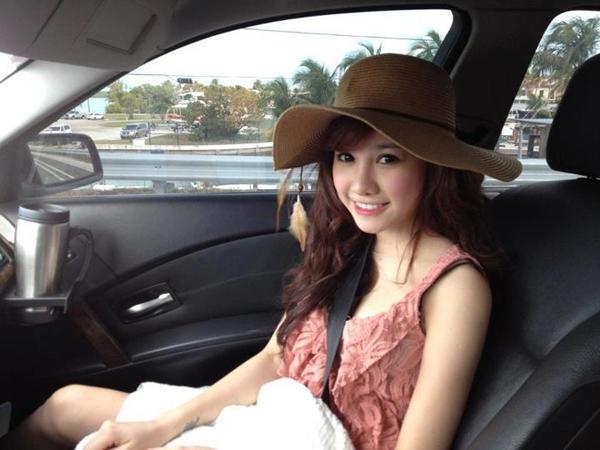 Nghi lộ ảnh nóng của hot girl bán hàng online Minh Thảo 1