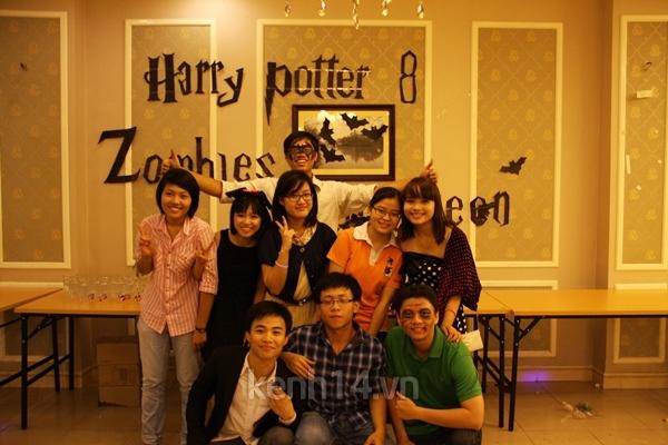 Giới trẻ Hà Nội rộn rã party Halloween 13
