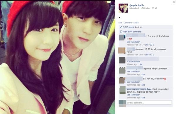 Quỳnh Anh Shyn đang yêu hot boy Bê Trần? 3