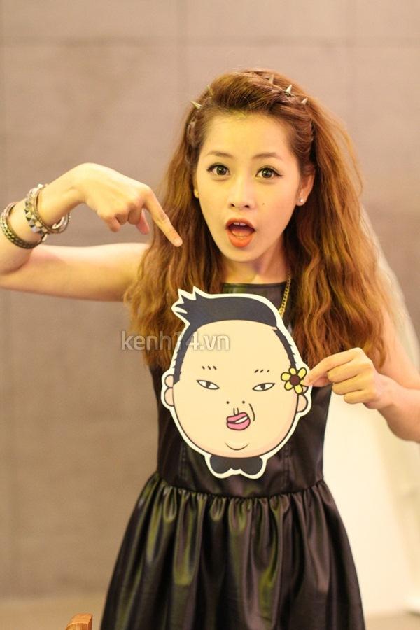 """Chi Pu bất ngờ xuất hiện trong """"Gangnam Style"""" chất lừ của St.319 5"""