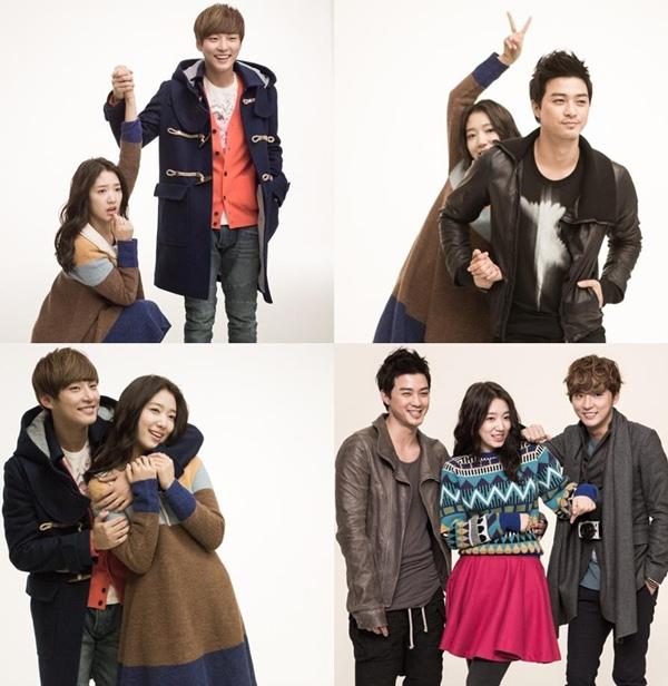 Bàn tay lạ nghịch cạp váy của Park Shin Hye 4