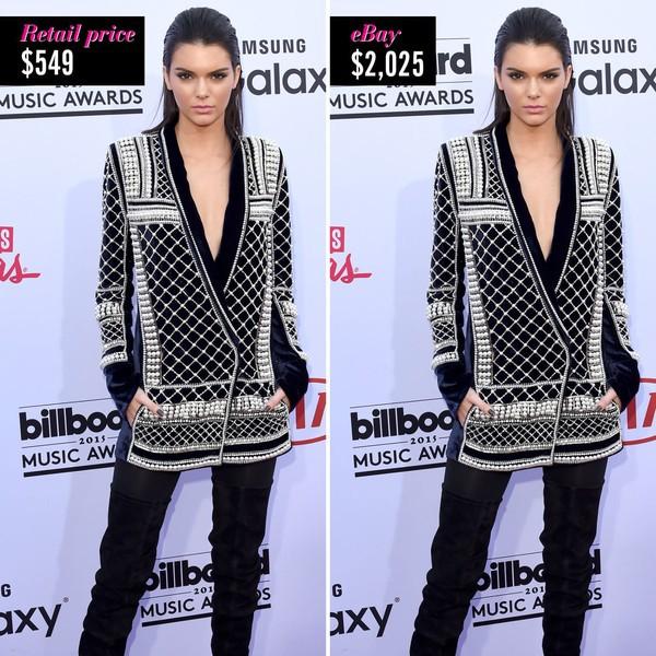 Một thiết kế Beaded Velvet Jacket nằm trong BST Balmain x H&M được niêm yết  với giá 549$ (khoảng hơn 12 triệu VNĐ).