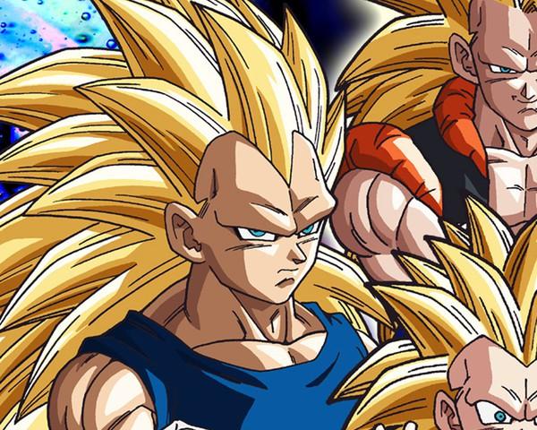 Các nhân vật như Trunks trở về từ tương lai, Trunks hiện tại, và Gogeta  (Hợp thể của Goku và Vegeta) lần đầu tiên có thể trở thành Super Saiyan cấp  ...