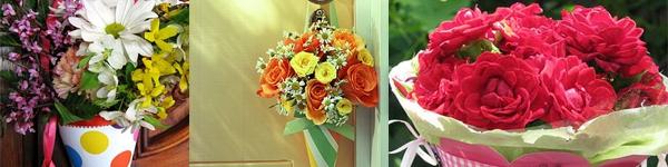 Cách làm 2 kiểu hoa giấy xinh xắn 3