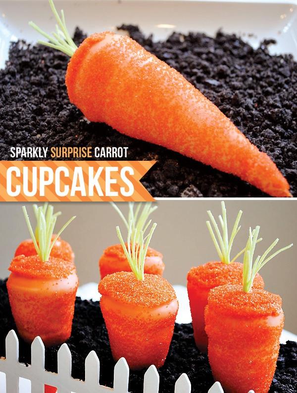 """Cupcake """"giả danh"""" cà rốt 8"""