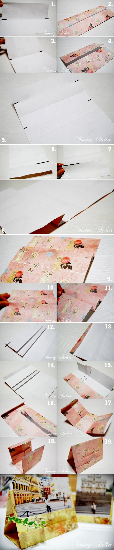 Học nhanh 2 cách gấp khung ảnh giấy 2