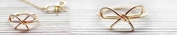 Nhẫn xinh nhẫn yêu từ dây chun 10