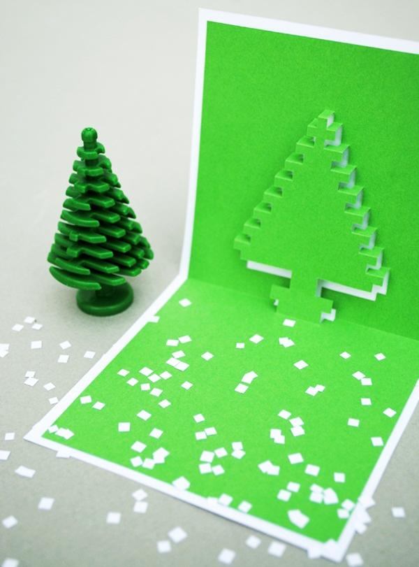 4 mẫu thiệp pop-up độc đáo mùa Noel 1