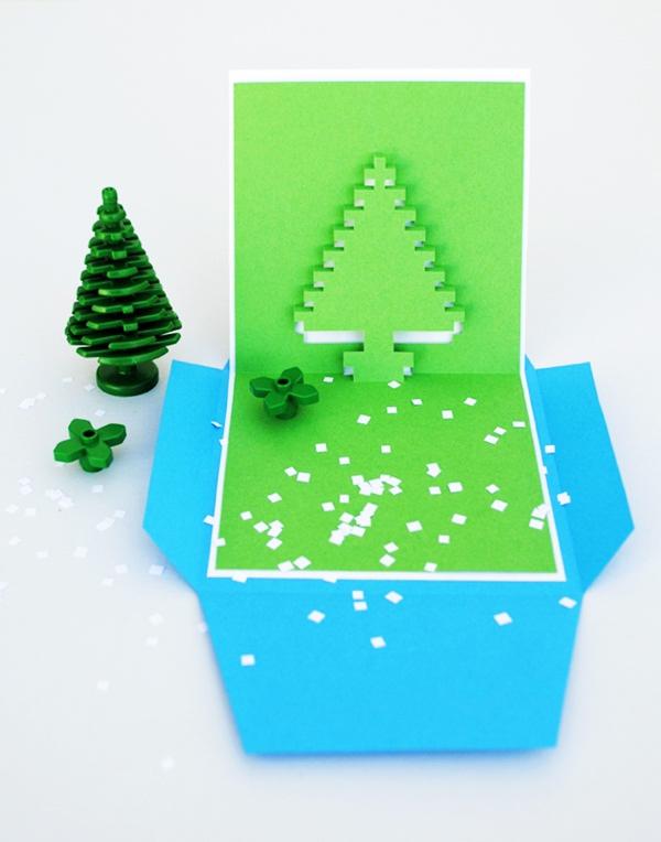 4 mẫu thiệp pop-up độc đáo mùa Noel 5