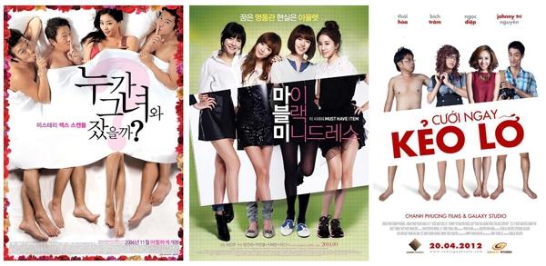 """Những """"tội danh đáng ngán"""" của poster phim Việt 2012 2"""