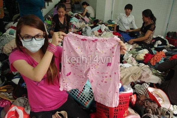 Hàng rẻ gây shock tại chợ hàng thùng Sài thành 5