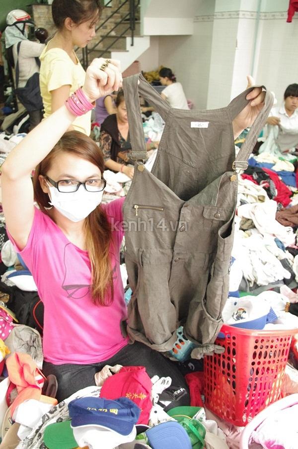 Hàng rẻ gây shock tại chợ hàng thùng Sài thành 7
