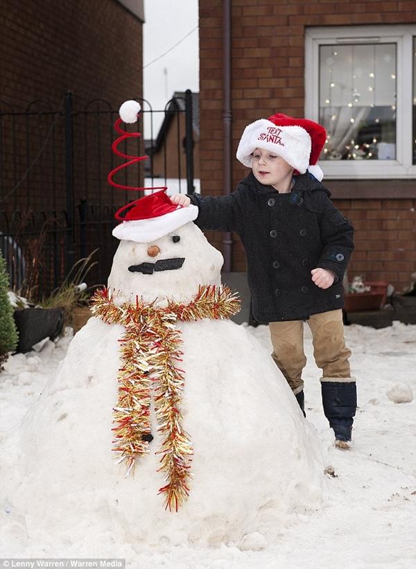 """10 tấn """"tuyết"""" bỗng dưng xuất hiện ở vườn nhà 5"""