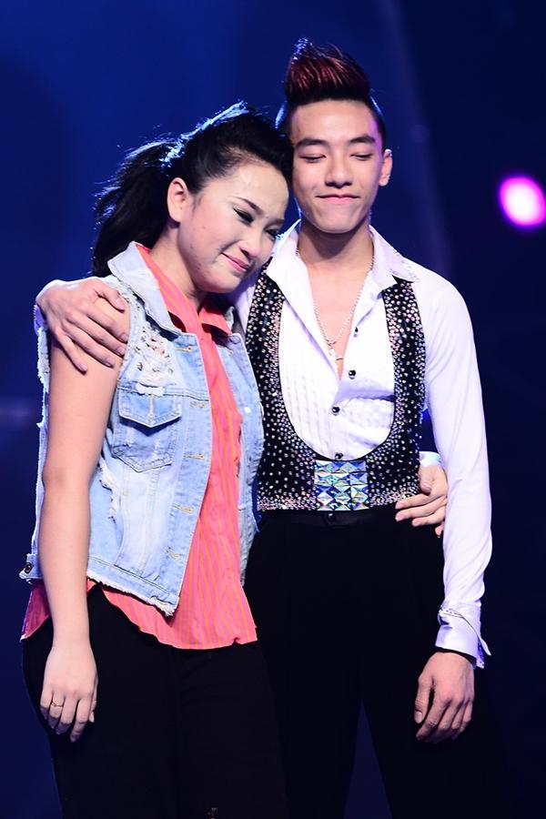 """Quỳnh Trang, Tuấn Đạt chia tay """"Bước nhảy"""" 1"""