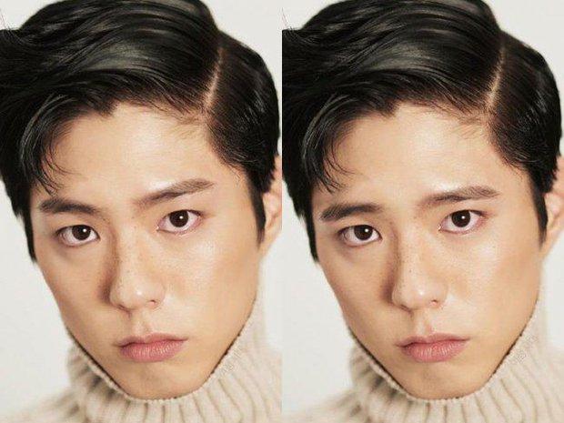 Dàn mỹ nam Hàn trông sẽ như thế nào khi thử mốt lông mày ngang của các chị em? - Ảnh 1.