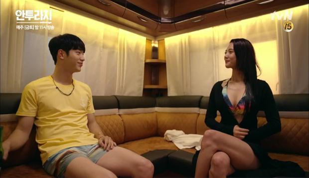 """Entourage"": Seo Kang Joon á khẩu khi bắt gặp So Hee hẹn hò Kang Ha Neul - Ảnh 9."