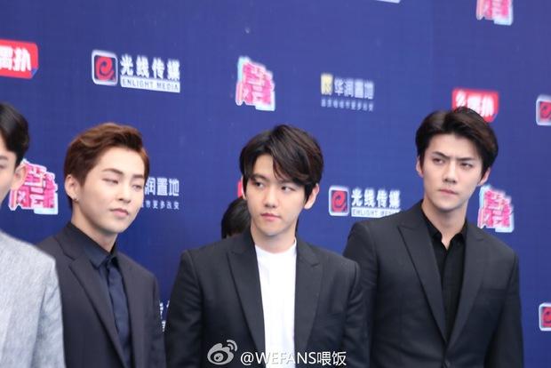 Dàn sao hot nhất Hoa - Hàn hội ngộ tại thảm xanh Chinese Top Music Awards - Ảnh 10.