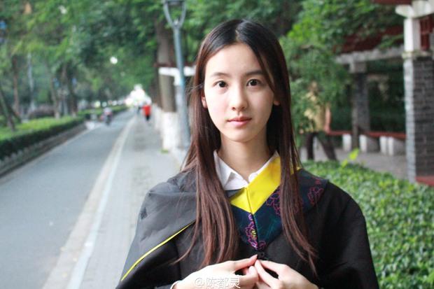 Loạt ảnh những nữ thần giảng đường Trung Quốc xinh như mơ trong ngày tốt nghiệp - Ảnh 1.
