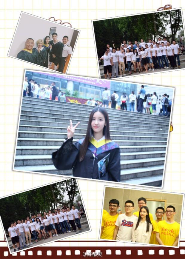 Loạt ảnh những nữ thần giảng đường Trung Quốc xinh như mơ trong ngày tốt nghiệp - Ảnh 5.