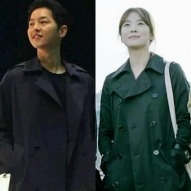 Tất tần tật những lần Song Joong Ki và Song Hye Kyo vô tình mặc đồ giống nhau - Ảnh 2.