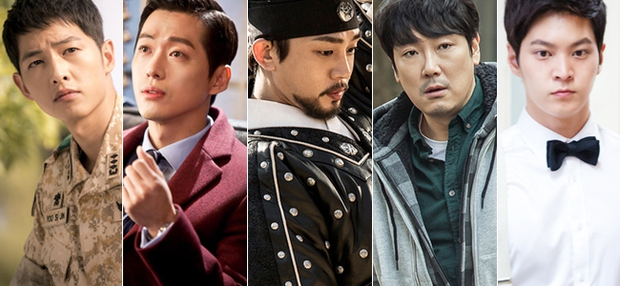 """Song Joong Ki khó có cửa thắng """"tình cũ"""" Yoo Ah In tại Giải Baeksang 52 - Ảnh 2."""